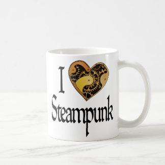 ハートSteampunk コーヒーマグカップ