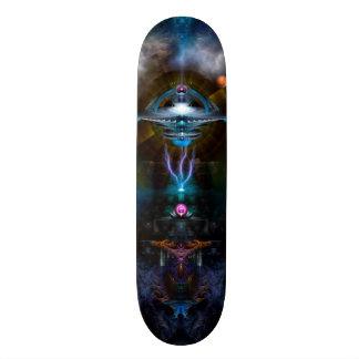 ハードウェアが付いている宇宙局のAnsariousのスケートボード スケートボード