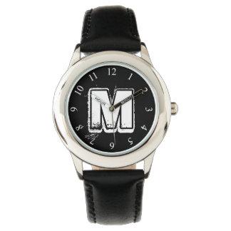 ハードロックのモノグラム 腕時計