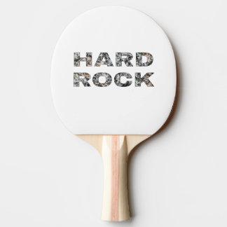 ハードロックの花こう岩の文字 卓球ラケット