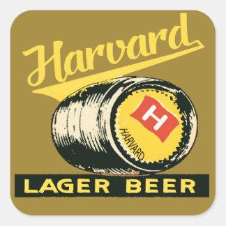ハーバードラガービール スクエアシール