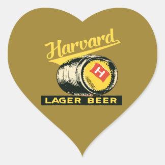 ハーバードラガービール ハートシール