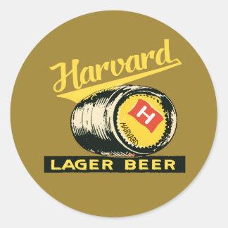 ハーバードラガービール ラウンドシール