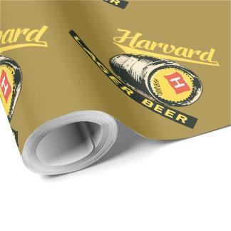 ハーバードラガービール ラッピングペーパー