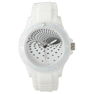 ハーフトーンの虫食い穴 腕時計