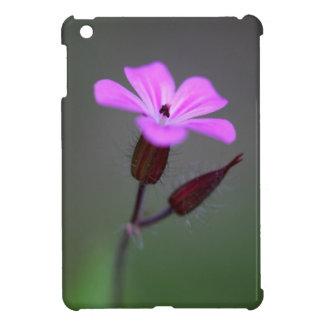 ハーブロバートの花、ゼラニウムrobertianum. iPad miniカバー