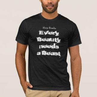 ハープのRoadieのワイシャツ Tシャツ