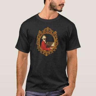 ハープシコードのモーツァルトの陰 Tシャツ