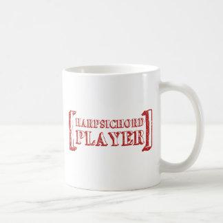 ハープシコードプレーヤー コーヒーマグカップ