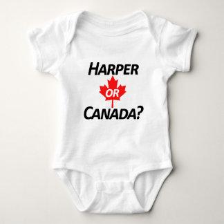 ハープ奏者かカナダか。 商品 ベビーボディスーツ