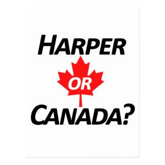ハープ奏者かカナダか。 商品 ポストカード