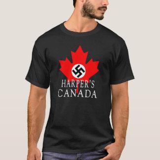 ハープ奏者のカナダ Tシャツ