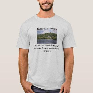 ハープ奏者のフェリー Tシャツ