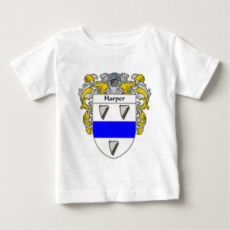 ハープ奏者の紋章付き外衣(包まれる) ベビーTシャツ