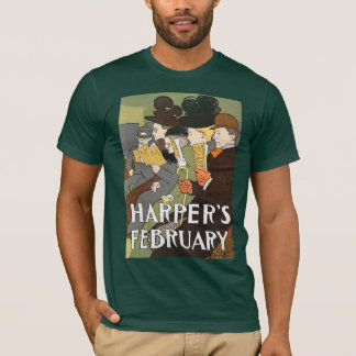 ハープ奏者の2月の森林 Tシャツ