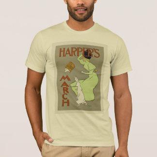 ハープ奏者の3月 Tシャツ