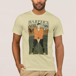 ハープ奏者の「98のゴルフクリーム Tシャツ