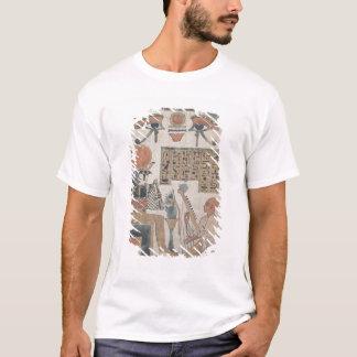 ハープ奏者のDjedkhonsuiuefankh Stela Tシャツ
