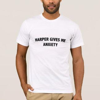 ハープ奏者は私に心配を与えます Tシャツ