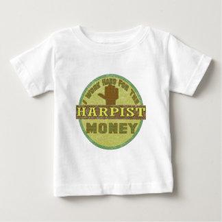 ハープ奏者 ベビーTシャツ