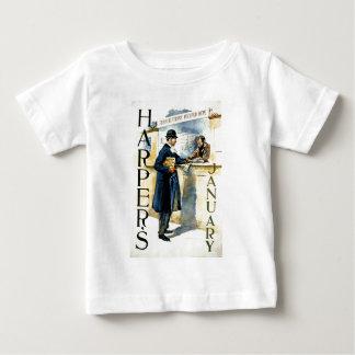 ハープ奏者JANUARY.jpg ベビーTシャツ