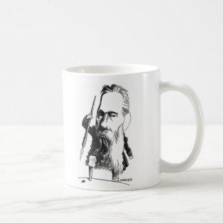 ハーマン・メルヴィルのマグ コーヒーマグカップ