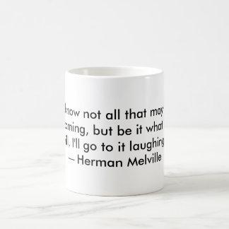 ハーマン・メルヴィルの引用文のマグ コーヒーマグカップ