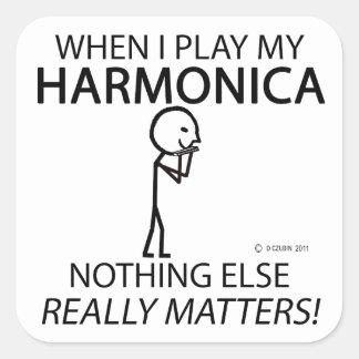 ハーモニカは何も重要です スクエアシール