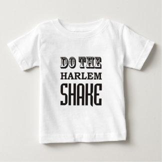 ハーレムの振動をして下さい ベビーTシャツ