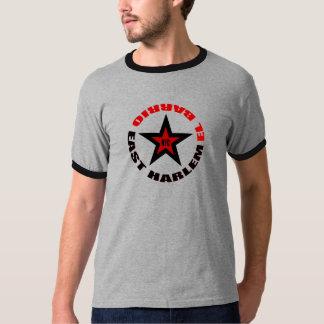 ハーレム東のELのバリオNYC Tシャツ