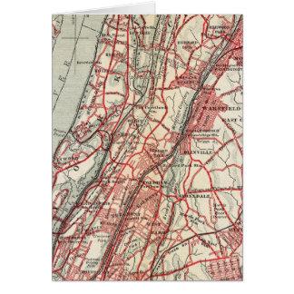 ハーレム、YonkersのPelham領域、ニューヨーク カード