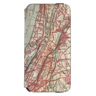 ハーレム、YonkersのPelham領域、ニューヨーク iPhone 6/6sウォレットケース