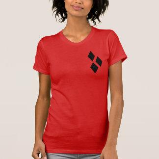 ハーレーの幾何学的なダイヤモンド Tシャツ