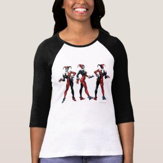 ハーレークウィン-すべての側面 Tシャツ
