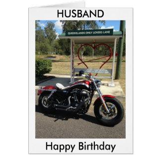 ハーレーデイヴィッドソンの恋人の車線の夫のボーイフレンド カード