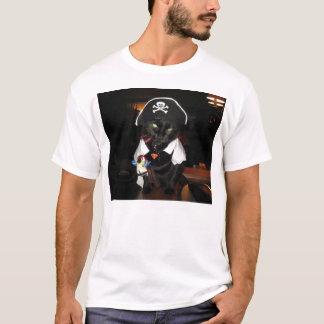 ハーレー海賊猫 Tシャツ
