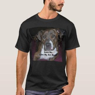 ハーレー06の愛MeLove私のAMのスタッフ Tシャツ