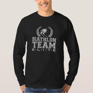 バイアスロンのチームエリート Tシャツ