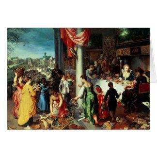 バイエルンの州で集まる冬の饗宴 カード
