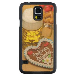 バイエルンビール2 CarvedメープルGalaxy S5スリムケース