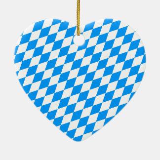 バイエルン 陶器製ハート型オーナメント