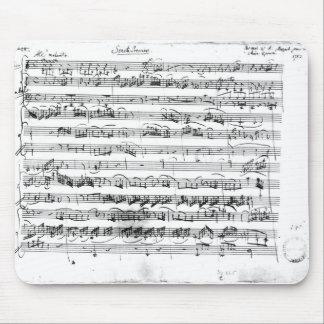 バイオリンおよびハープシコードのためのSonateのプリミア マウスパッド