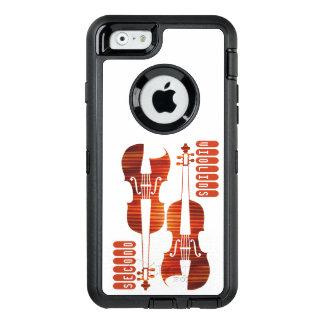 バイオリンのオッターボックスのSmartphoneの第2場合 オッターボックスディフェンダーiPhoneケース