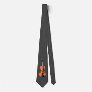 バイオリンのデザイン ネクタイ