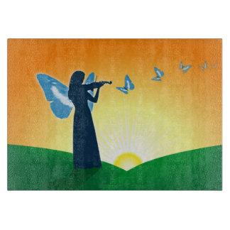 バイオリンのプレーヤー及び蝶