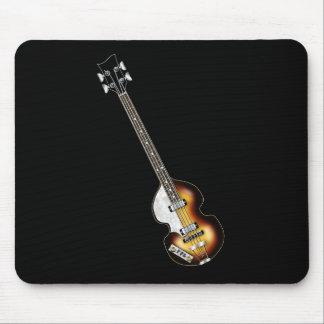 バイオリンのベースギター マウスパッド