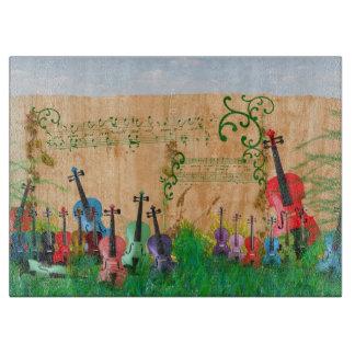 バイオリンの庭 カッティングボード