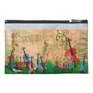 バイオリンの庭 トラベルアクセサリーバッグ
