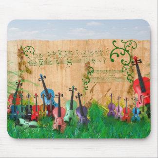 バイオリンの庭 マウスパッド