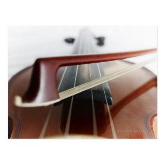 バイオリンの弓 ポストカード